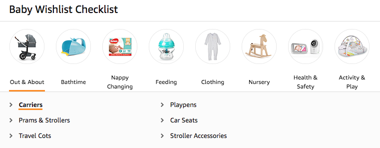 baby registry checklist product recommendations