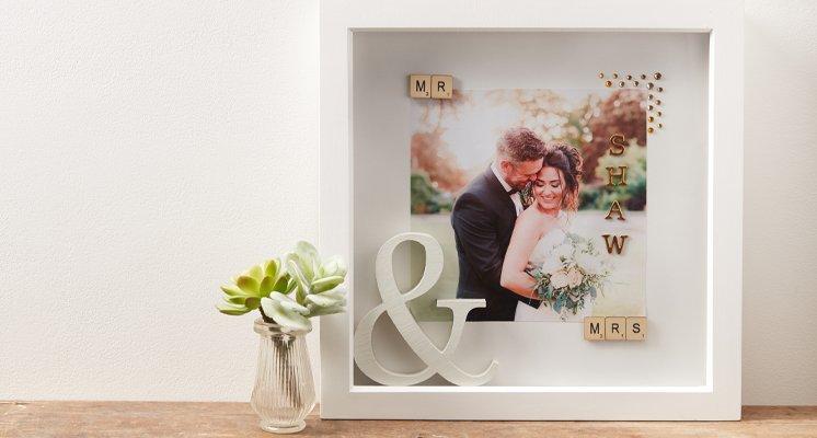 Hobbycraft Wedding Memory Box Frame Tutorial