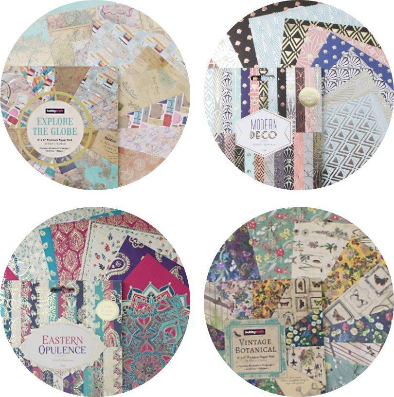 Hobbycraft patterned paper packs
