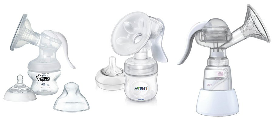 Manual breast pumps - Avent breast pump, tommee tippee breast pump