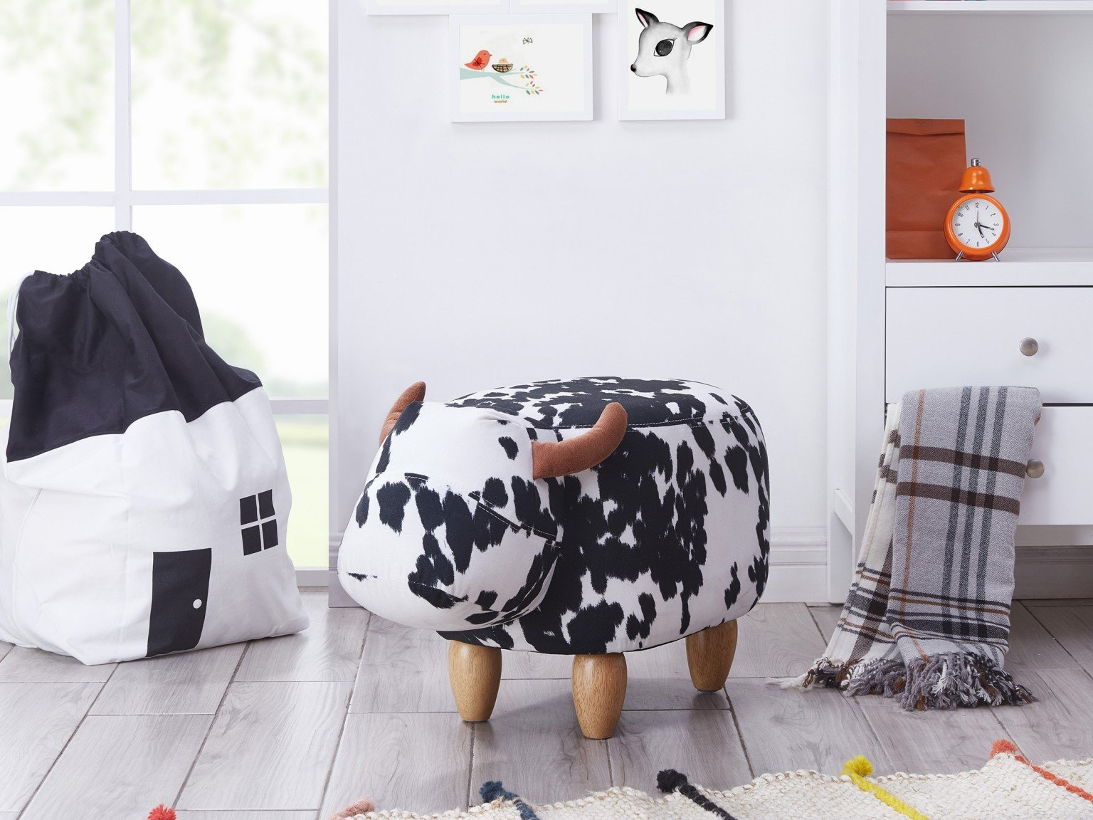 Kids Animal Footstool