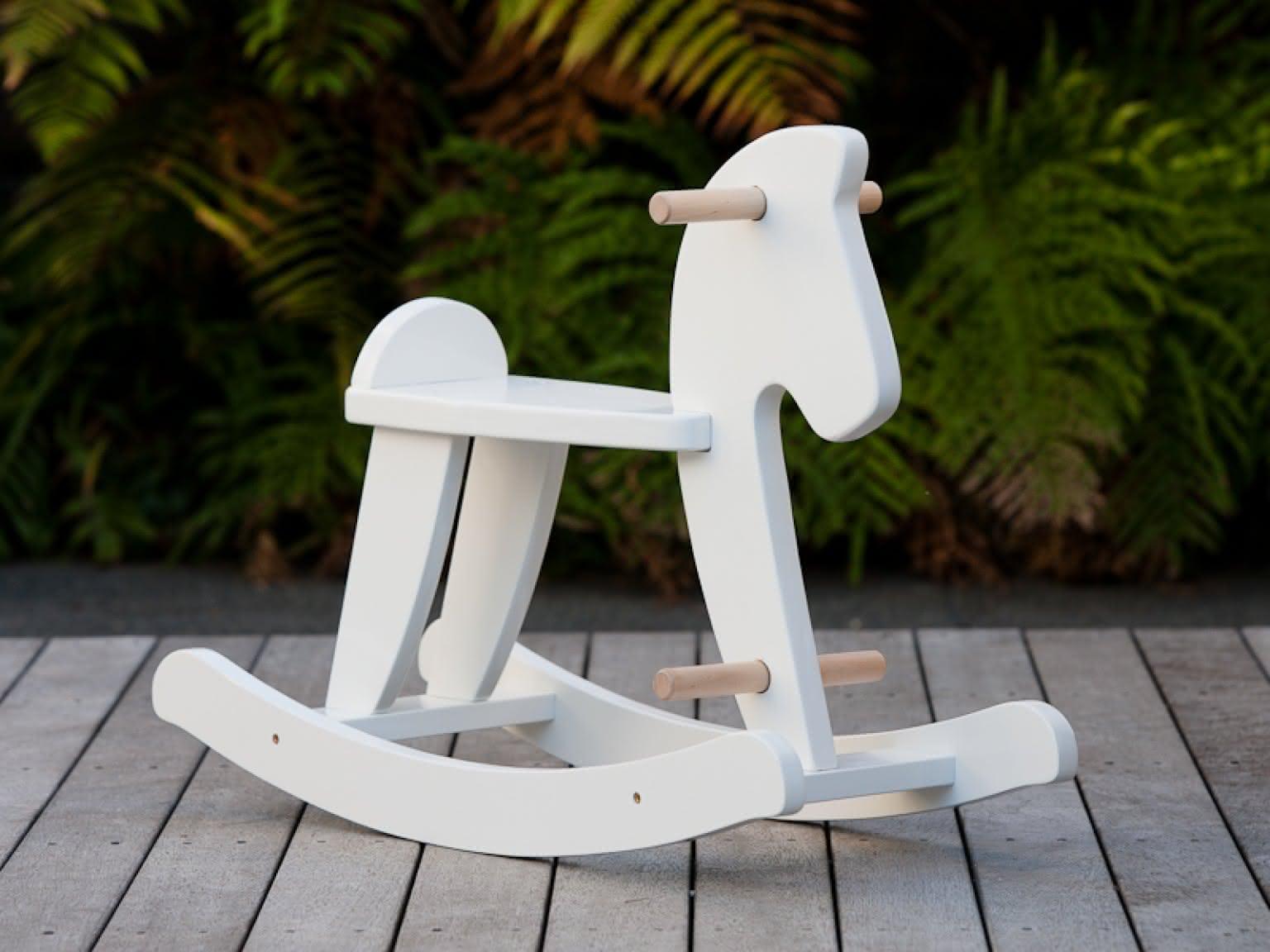 Mocka Australia - Wooden Rocking Horse