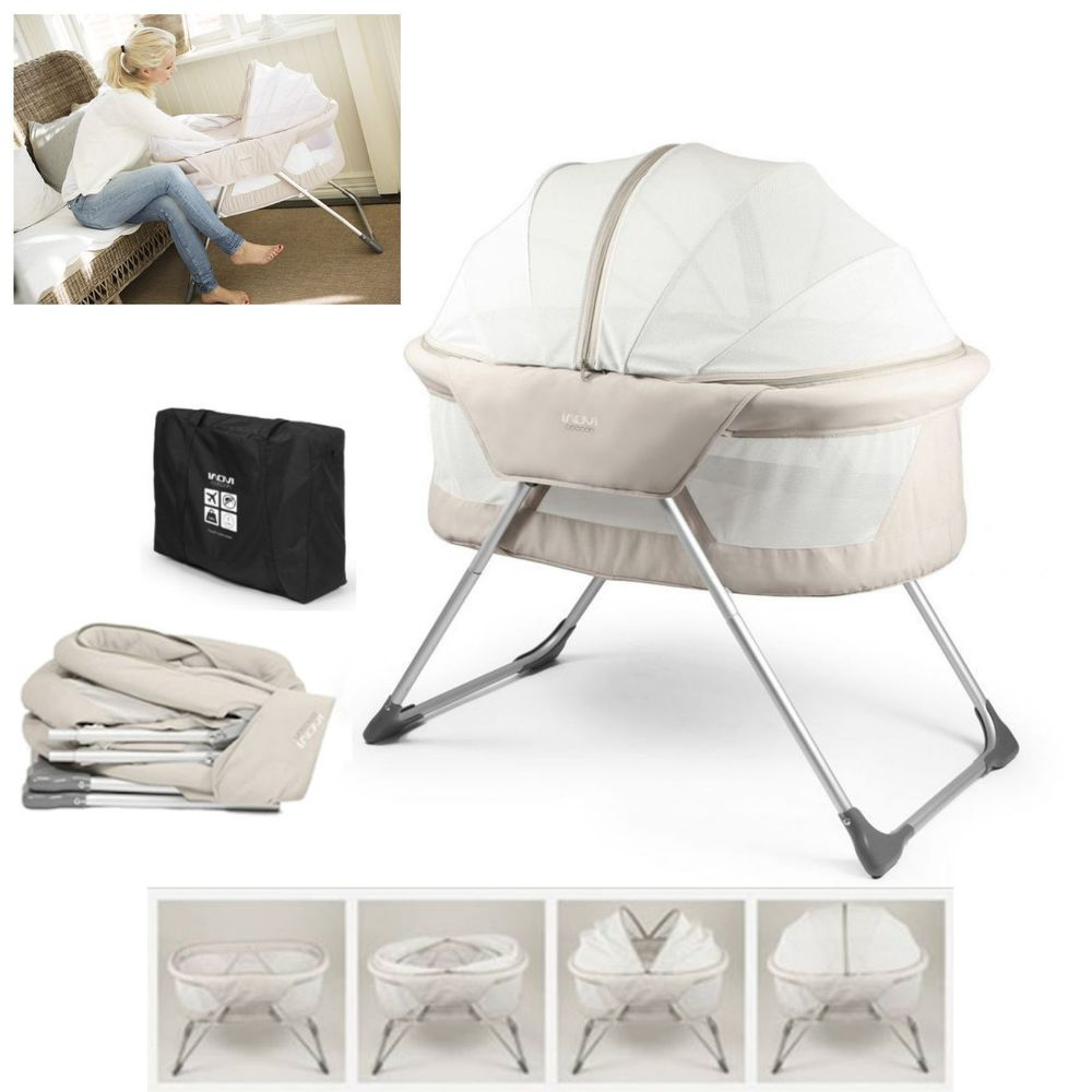 Sunbury Cocoon Bassinet - Best portable bassinet for travelling with a baby