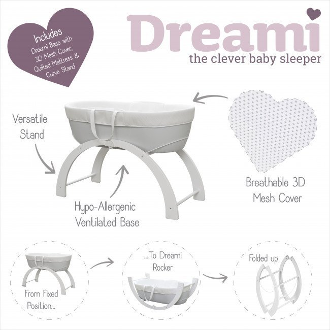shnuggle dreami rocking bassinet australia