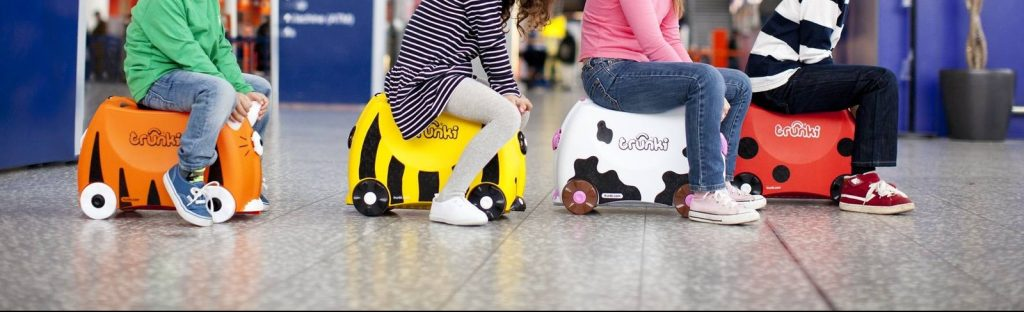 Trunki kids animal ride-on suitcase