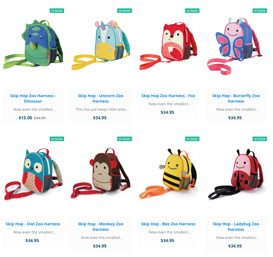 Skip Hop Kids Mini Backpack with harness - The Stock Nest