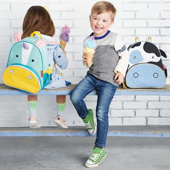 Skip Hop kids zoo backpack - una the unicorn and cow