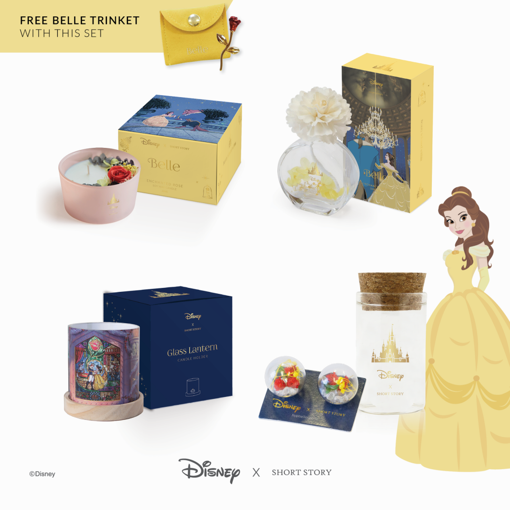 Short Story - Official Disney Belle Collection Set