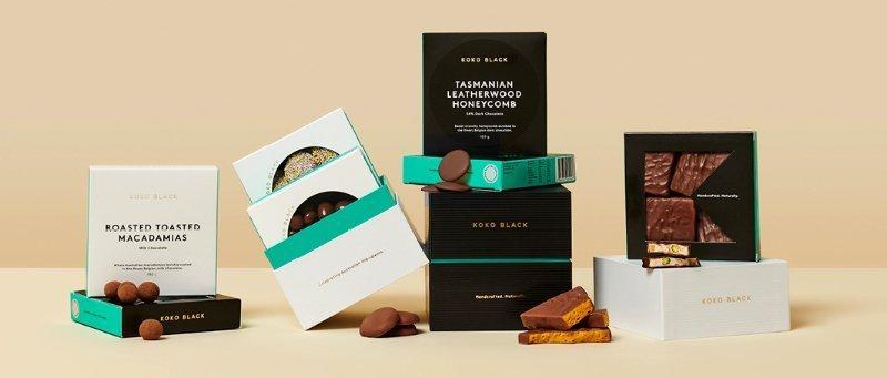 Koko Black - Personalised chocolate gift cubes