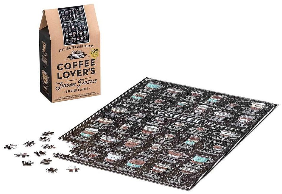 Coffee Lovers 500pc Jigsaw Puzzle