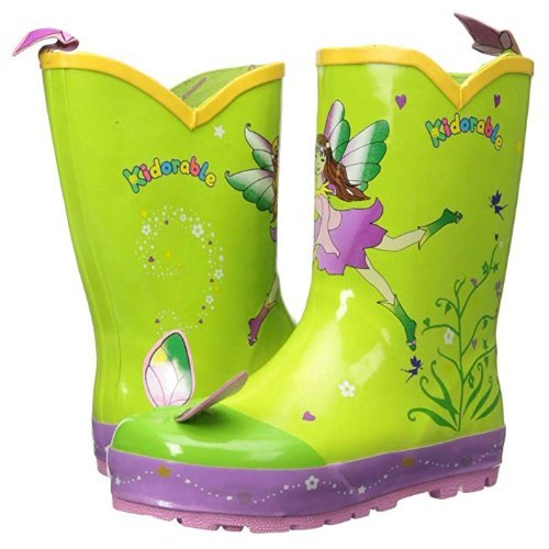 fairy kidorable gumboots with fairy wings