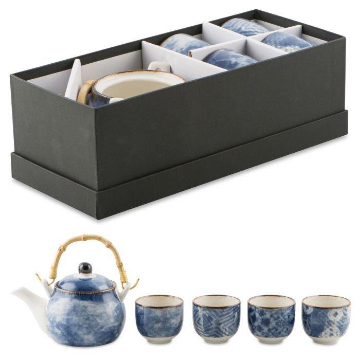 5 Piece Porcelain Tea Set in gift box