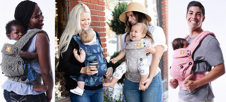 Baby Tula 'Free To Explore' collection of full buckle baby carriers