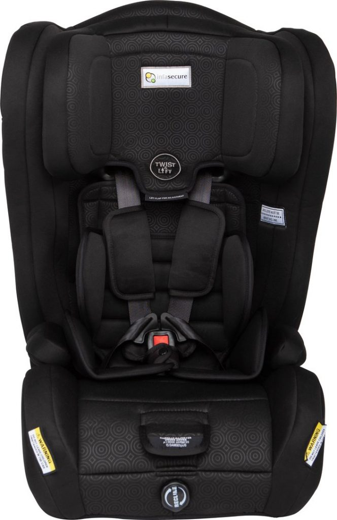 Infasecure Emerge Caprice convertible car seat in black