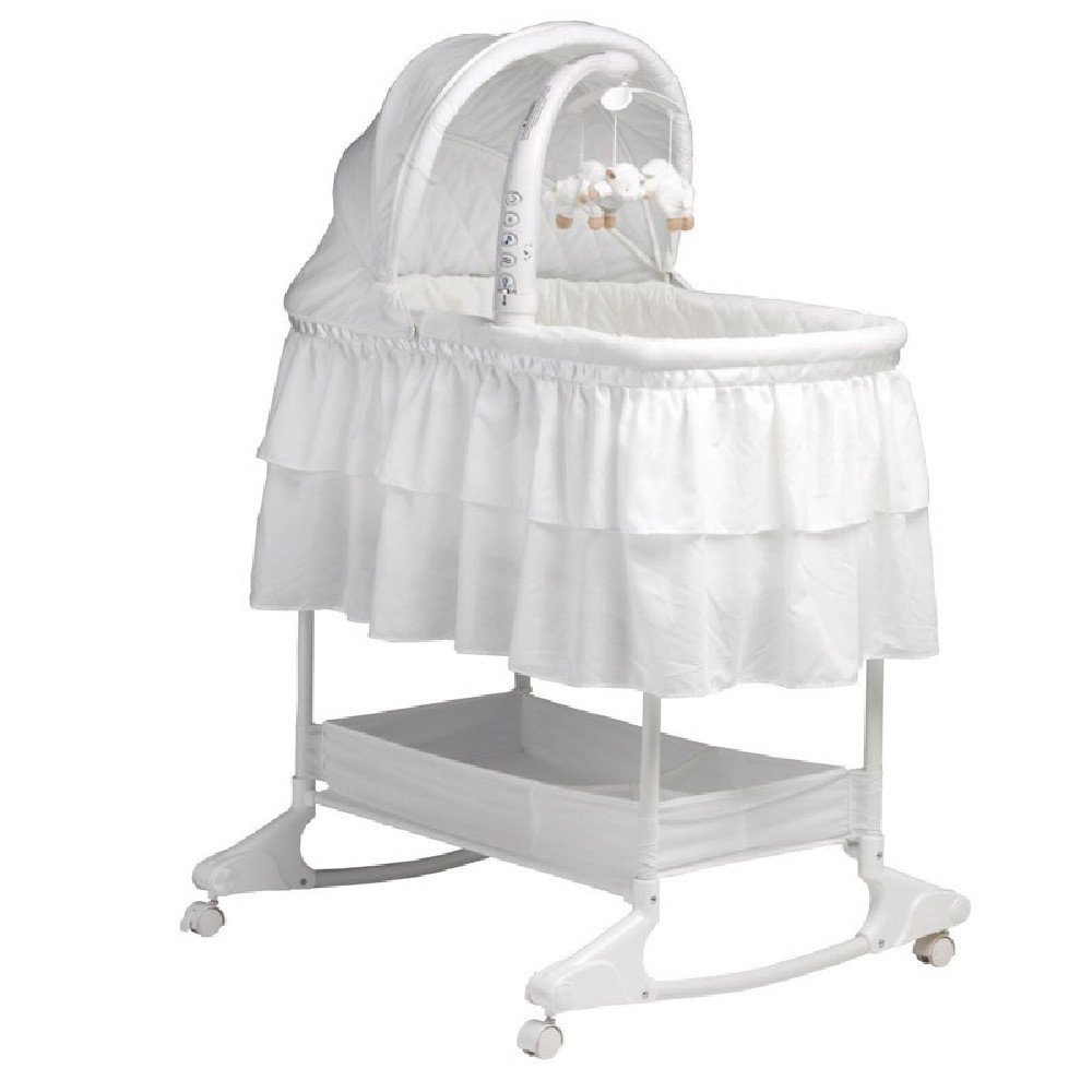 Childcare Chloe Rocking Bassinet white